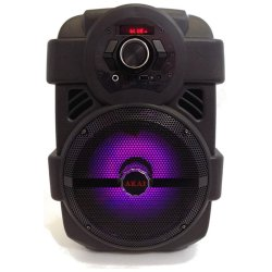 Akai Φορητό Ηχείο Bluetooth με LED, USB, Aux-In και Μικρόφωνο – 10W