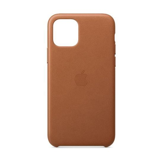 Apple Leather Case iPhone 11 Pro Καφέ