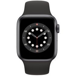 Apple Watch Series 6 40mm Sport Band Space Gray