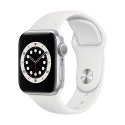 Apple Watch Series 6 40mm Sport Band Λευκό