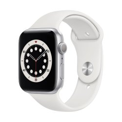 Apple Watch Series 6 44mm Sport Band Λευκό