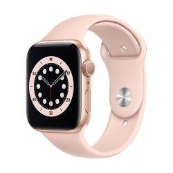Apple Watch Series 6 44mm Sport Band Ροζ Χρυσό