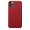 Apple Leather Case iPhone 11 Pro Max Κόκκινη