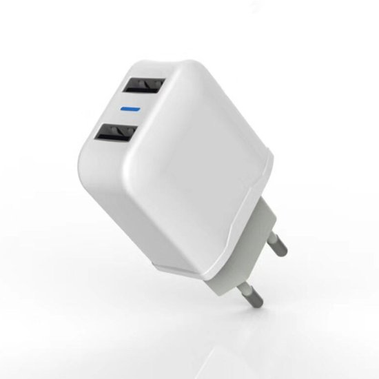 Aspor A829 Home Charger  2 USB Λευκό
