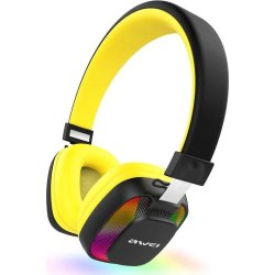 Awei Bluetooth Stereo Headphones Κίτρινα