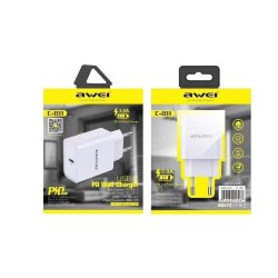 Awei Charger Power Delivery Type C Λευκό