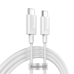 Baseus PD Cable Type-C 5A 100W 1.5m Λευκό