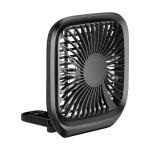 Baseus Foldable Vehicle Backseat Fan Μαύρο