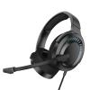 Baseus Gaming Wired Headphones 3D Gamo Μαύρα