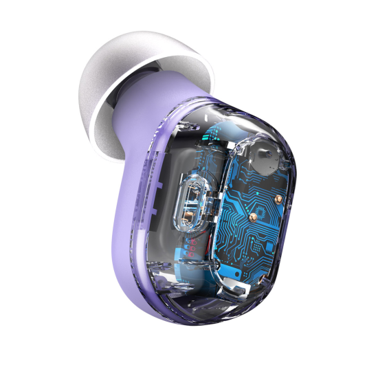 Baseus True Wireless Earbuds Encok WM01 Μωβ