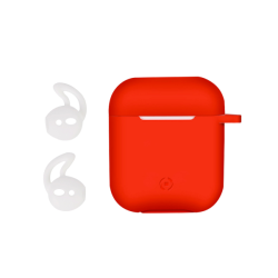 Celly Airpod Case Sport Buds Κόκκινη