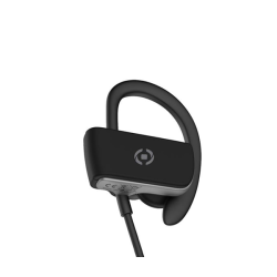 Celly Bluetooth Sport Stereo Earphone Μαύρα