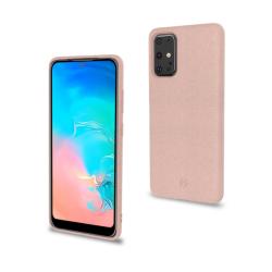 Celly Earth Case Samsung Galaxy S20 Ultra Ροζ