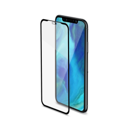 Celly Full Face iPhone XS Max Μαύρο