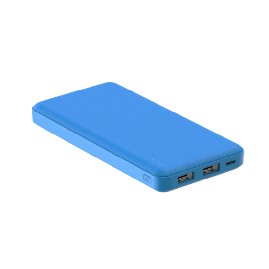 Celly Powerbank Energy 10000mAh Μπλε