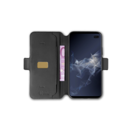 Celly Case Prestige Samsung Galaxy S10 Plus Μαύρο Magnet Version