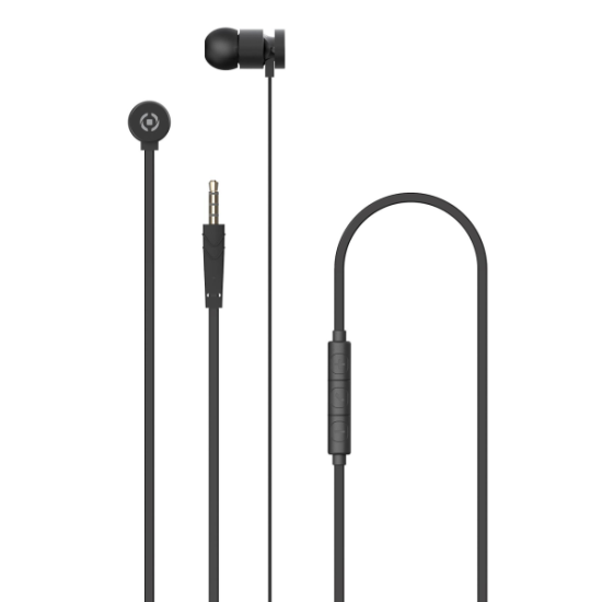 Celly Up 1000 Stereo Earphone 3.5mm Μαύρα