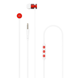 Celly Up 1000 Stereo Earphone 3.5mm Κόκκινα