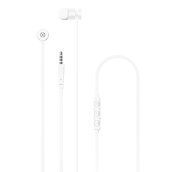 Celly Up 1000 Stereo Earphone 3.5mm Ασημί