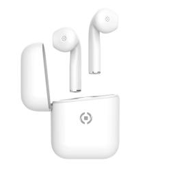Celly True Wireless Earbuds Zed1 Λευκά