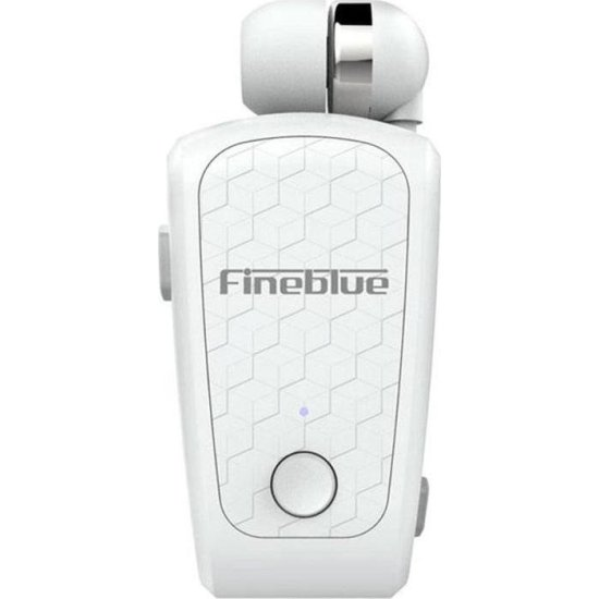 Fineblue FQ-10 In-ear Bluetooth Handsfree Λευκό