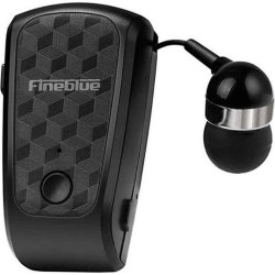 Fineblue FQ-10 In-ear Bluetooth Handsfree Μαύρο