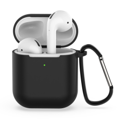 FoneFX Accessories Kit for Airpods with Rubber Case Μαύρο