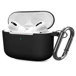 FoneFX Apple AirPods Pro Μαύρη Θήκη Σιλικόνης