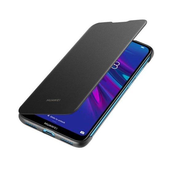 Huawei Flip Cover Y6 2019 Μαύρη