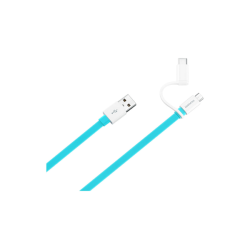 Huawei Type C Cable To Usb 1.5m & 2A Μπλε