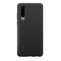 Huawei Silicone Case P30 Μαύρη