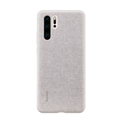 Huawei PU Case P30 Pro Elegant Γκρι