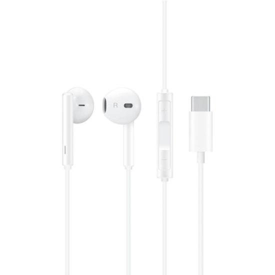 Huawei Handsfree Classic Earphones CM 33 (USB-C Edition) Λευκά