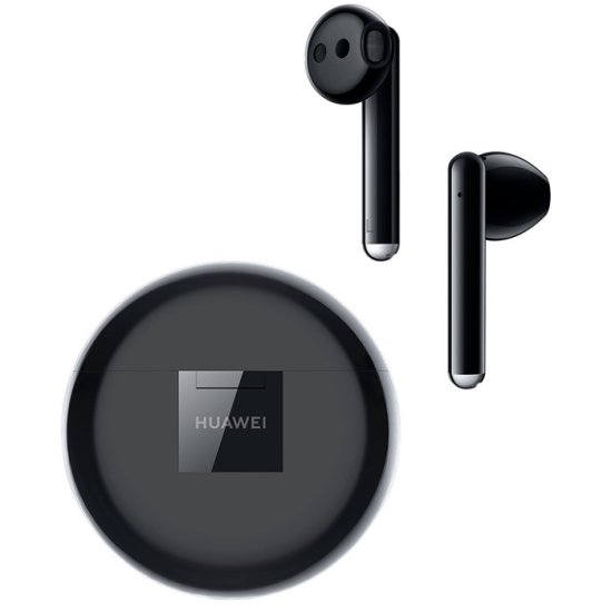 Huawei FreeBuds 3 Carbon Μαύρα
