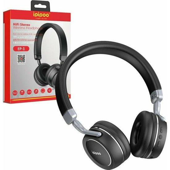 Ipipoo EP1 Wireless Headphones Μαύρα