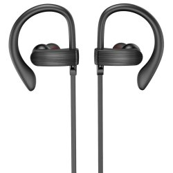 ipipoo AP-6 Sports Bluetooth Magnetic Earphones Μαύρα