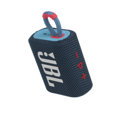 JBL Bluetooth Speaker GO3 Waterproof Μπλε Ροζ