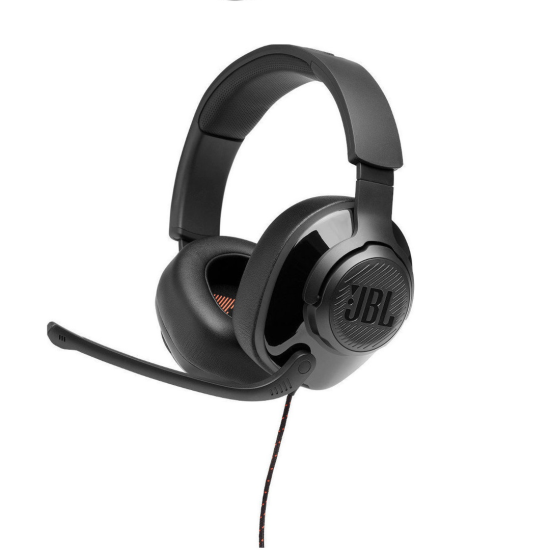 JBL Wired Gaming Headset Surround Quantum 300 Μαύρα