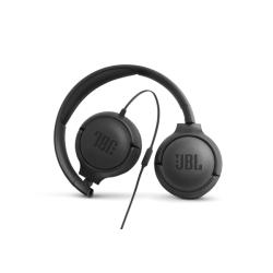 JBL Wired Headphones Tune 500 Μαύρα