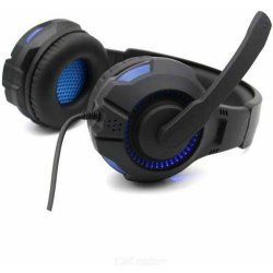 Komc Gaming Headphones G301 Μπλε