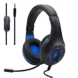 Komc Z90 Gaming Headset 3.5 mm Μπλε