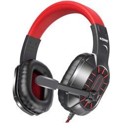 Komc M202 Gaming Headset Κόκκινο