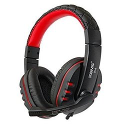 Komc K4 Gaming Headset 3.5 mm Κόκκινο