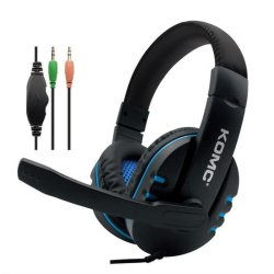 Komc K4 Gaming Headset 3.5 mm Μπλε