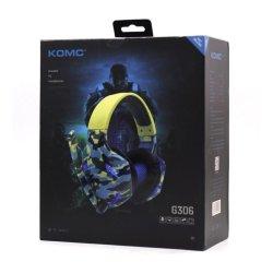 Komc Gaming Headphones G306 Navy Camouflage