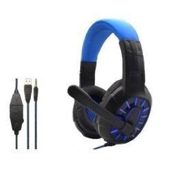 Komc G309 Gaming Headset 3.5 mm Μπλε
