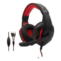 Komc G311 Gaming Headset 3.5 mm Κόκκινο