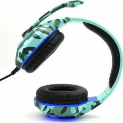 Komc G312 Gaming Headset 3.5 mm Army Μπλε