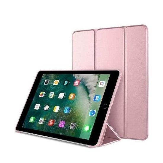 iPad 5 Smart Case Flip Stand Ροζ