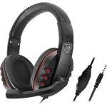GM 002 Gaming Headphones Κόκκινο